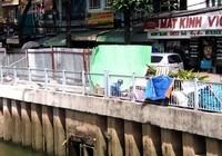 Thêm ba nơi sụp lún trên kênh Nhiêu Lộc - Thị Nghè