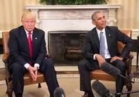 Thế cờ khó ông Obama để lại cho ông Trump