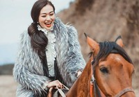 Khánh My đóng phim truyền hình Trung Quốc