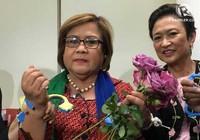 Nữ nghị sĩ chống ông Duterte lo mình sắp bị bắt