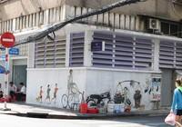 Hoài niệm Sài Gòn xưa qua những bức tranh tường