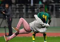 CĐV Bờ Biển Ngà xuống sân quật ngã cầu thủ Senegal