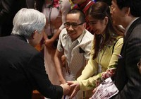 Người em cặp Việt-Đức được mời thỉnh giảng tại Nhật