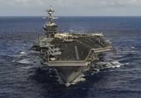 Mỹ điều siêu tàu sân bay đến bán đảo Triều Tiên