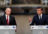 Gặp Tổng thống Mỹ, Nga: Ông Macron chứng tỏ bản lĩnh