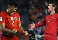 Bồ Đào Nha - Chile: Ronaldo chống 'cảm tử quân'