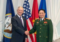 Bộ trưởng Quốc phòng VN gặp bộ trưởng Quốc phòng Hoa Kỳ