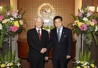 Tổng Bí thư hội kiến chủ tịch Thượng viện Indonesia