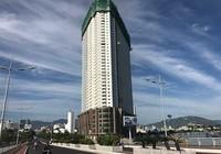 Ngăn hoàn thiện cao ốc Mường Thanh Khánh Hòa