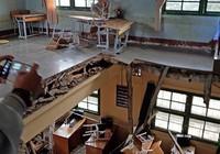 Họp khẩn vụ sập sàn phòng học khiến 10 HS bị thương