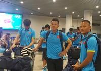 Đội tuyển Việt Nam tập nhẹ ở Campuchia