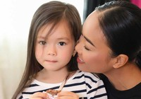 Con gái Đoan Trang bộc lộ năng khiếu thời trang