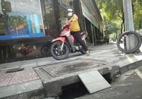 Dân Sài Gòn cũng sợ 'tụt' hố ga