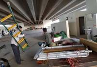 Buộc tháo dỡ nhà hàng dưới gầm cao tốc Hà Nội-Hải Phòng