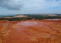 HĐND Bình Thuận gửi văn bản chất vấn về hồ bùn đỏ titan