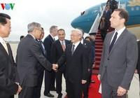 Hình ảnh ngày đầu chuyến thăm chính thức Hoa Kỳ của Tổng Bí thư