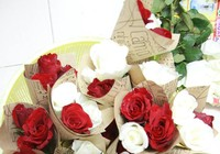 Chùm ảnh: 1.000 bông hồng cảm ơn những người hùng thầm lặng