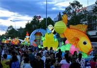 Lung linh sắc màu lễ hội trung thu ở Phan Thiết