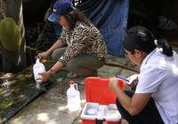 Cách lấy mẫu nước giếng khoan để xét nghiệm