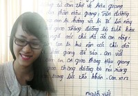 Cô gái viết thư cảm ơn CSGT đã tận tình giúp đỡ