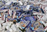 Buôn bán 500 gói  thuốc lá lậu có thể bị xử lý hình sự