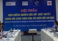 Việt Nam đứng thứ ba Đông Nam Á về số ca sốt xuất huyết