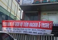 Công ty nhận đăng ký tiêm vaccine dịch vụ trả lại tiền cho khách hàng