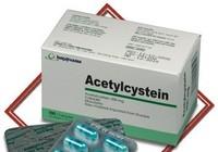 Dùng thuốc acetylcystein như thế nào?