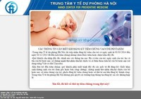 Gần 10.000 liều vaccine  '5 trong 1' được đăng ký hết trong 10 phút