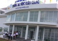 Hiệu trưởng Trường ĐH Kiên Giang bị kỷ luật khiển trách