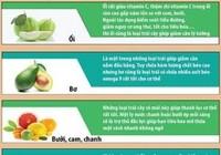 Infographic: 10 loại trái cây giảm mỡ thừa 'thần tốc'
