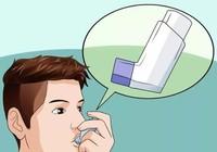 Sai lầm dễ gặp khi sử dụng thuốc xịt trị hen suyễn