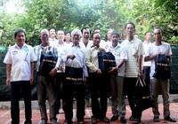Cựu binh Trường Sa thăm nhóm ngư dân sau 31 năm xa cách