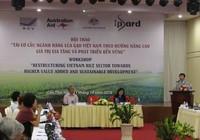 Gần 7.000 tỉ đồng tái cấu trúc ngành hàng lúa gạo