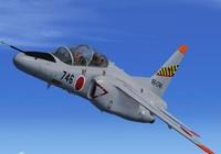 Kawasaki T-4, nhiệm vụ quan trọng trên bán đảo Triều Tiên