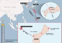 Kế hoạch dùng 4 tên lửa tấn công Guam của Triều Tiên