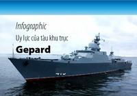 Uy lực tàu chiến Gepard 3.9 của Hải quân Việt Nam