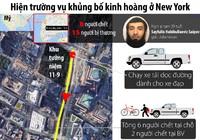 Infographic: Vụ khủng bố ở New York xảy ra như thế nào?