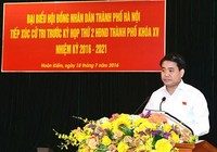 Chủ tịch Hà Nội trả lời cử tri về việc chọn trồng cây phượng