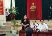 Bãi miễn chức chủ tịch HĐND xã Đồng Tâm của bà Lan