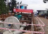 Trạm bơm chống ngập 'khủng' tạm dừng hoạt động