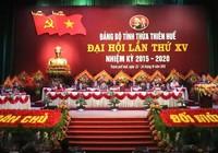 Khai mạc Đại hội đại biểu Đảng bộ tỉnh Thừa Thiên-Huế lần thứ XV