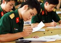 Thông tin mới tuyển sinh vào trường quân đội năm 2016
