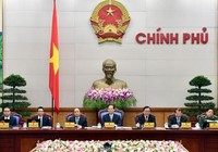Thủ tướng Nguyễn Tấn Dũng lần cuối cùng chủ trì họp Chính phủ