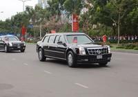 Video: Đoàn xe Tổng thống Obama trên đường phố Sài Gòn
