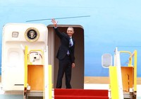 Chuyên cơ của Tổng thống Obama đã rời Việt Nam