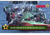 Video: Tìm thấy thêm một số thi thể trên máy bay CASA 212