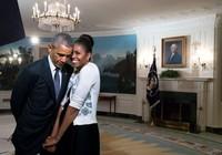 Vợ chồng Obama nhắn nhủ tình tứ ngày Valentine