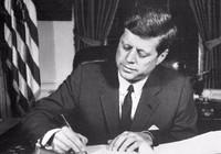 Chữ ký cuối cùng của ông Kennedy được rao bán giá khủng