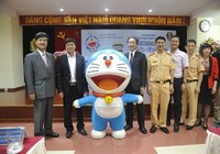 """Công bố kết quả cuộc thi """"Doraemon với An toàn giao thông"""""""